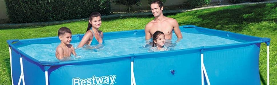 Bestway Infantil Bestway Deluxe Splash Frame Pool Piscina ...