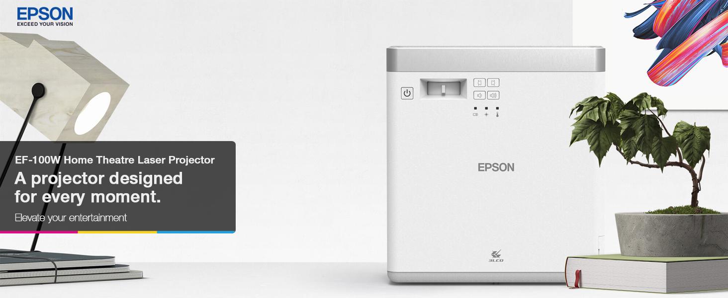 Epson EF-100W Home Theatre Laser Projector