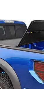 TYGER T3 Soft Tri-Fold Tonneau Truck Bed Cover