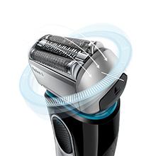 Braun male shaver, foil shaver, flex head, contour head, best shaver