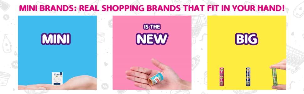 mini is the new big, real shopping brands, pez, skippy, mini dove