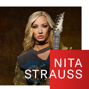 Nita Strauss uses D'Addario Pro Winder