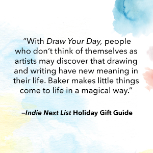 draw your day;holiday gift guide;journal;blank journal;journal for artists;gifts for kids;holiday