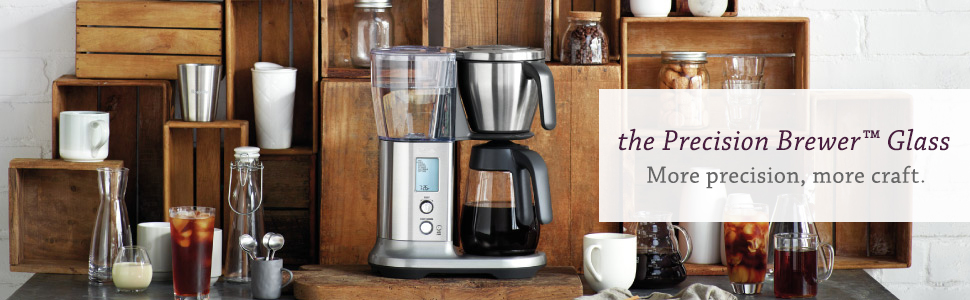 Best glass coffee maker, drip coffee maker, sca approved coffee, adjustable coffee setting Breville