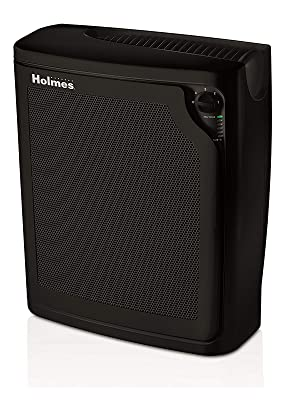 Holmes Large Room 4-Speed True HEPA Air Purifier with Quiet Operation