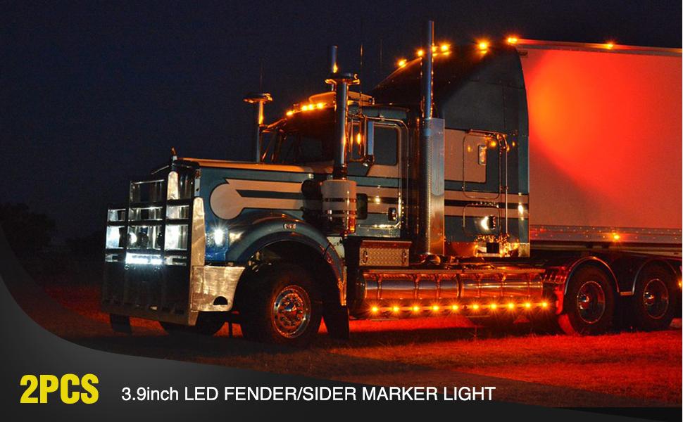led side marker light, rear marker light, led marker light