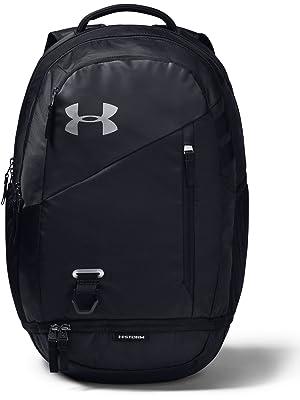 bala Contorno Barcelona  Under Armour Hustle 4.0 Backpack - Academy/ Silver (408), OSFA:  Amazon.co.uk: Sports & Outdoors