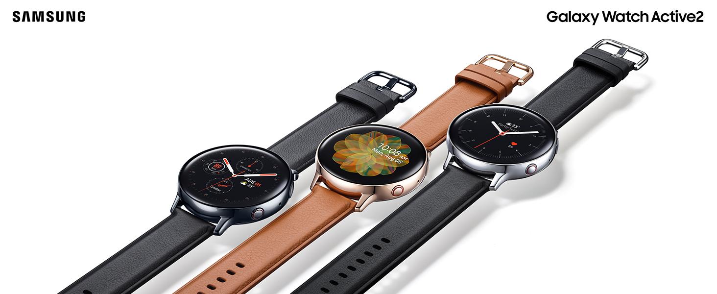 Amazon.com: Samsung Galaxy Watch Active2 Stainless Steel LTE ...