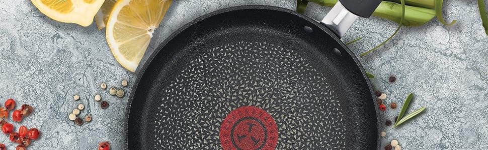 Tefal Expertise Sartén de 19 cm con Antiadherente Titanium, máxima antiadherencia y adecuada difusión de la calor, apta para todo tipo de fuegos ...