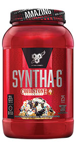 SYNTHA-6 Cold Stone Creamery - an ultra-premium protein powder with 22g protein