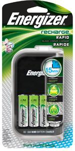 Energizer Recharge Rapid Charger