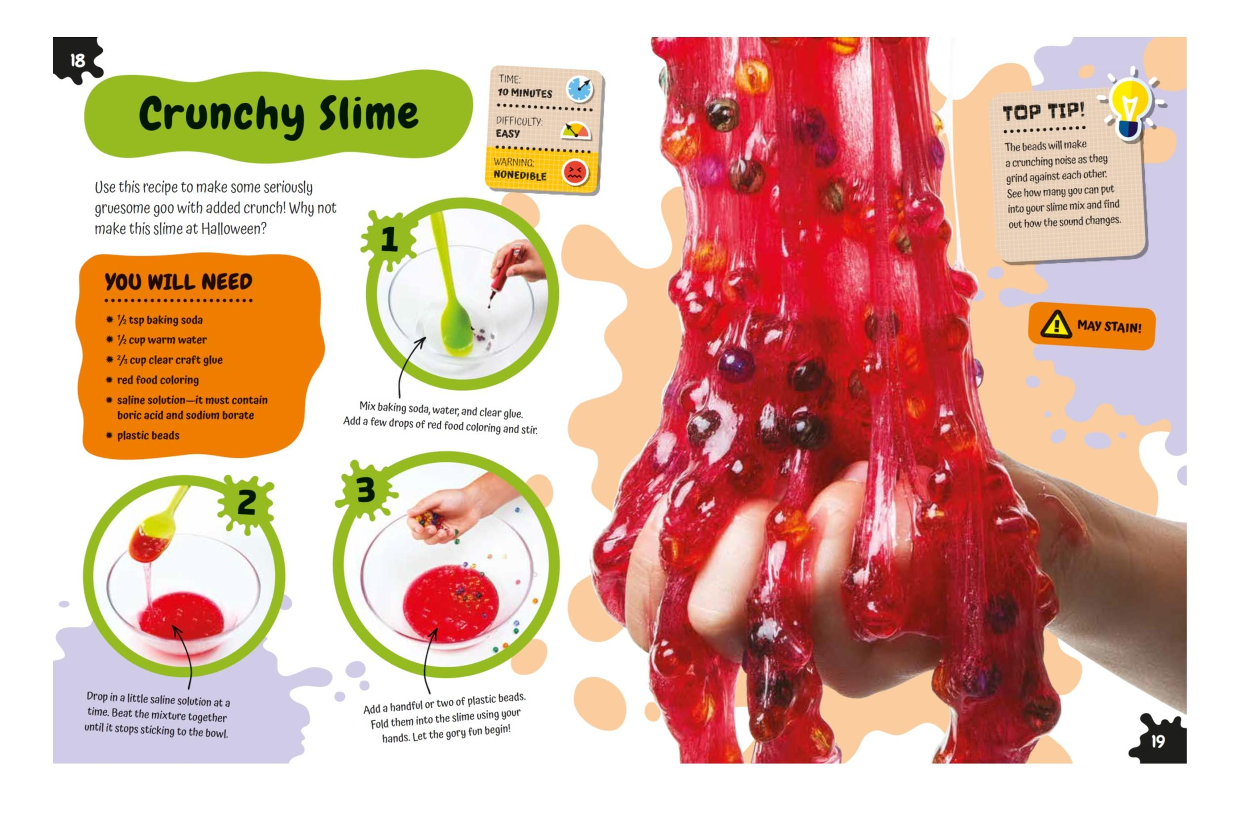 The slime book all you need to know to make the perfect slime dk view larger ccuart Gallery