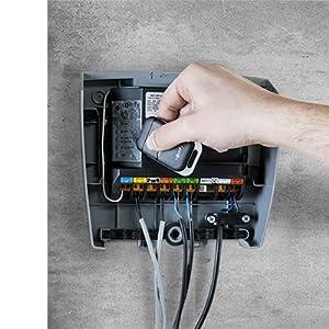 afstandsbediening keypop, tormotor, exact via motor