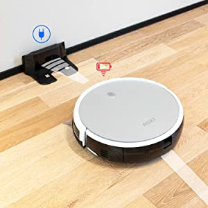 Amazon Com Robot Vacuum Rozi 1600pa Strong Suction