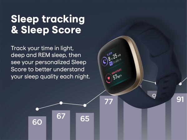 sleep tracking and sleep score