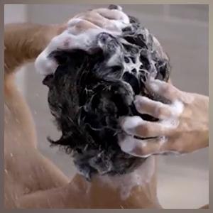 просто шампунь для волос 90-х годов