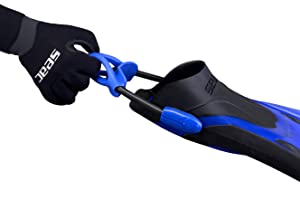 Amazon Com Seac Propulsion S Open Heel Scuba Diving Fins With Sling Strap Made In Italy Sports Outdoors