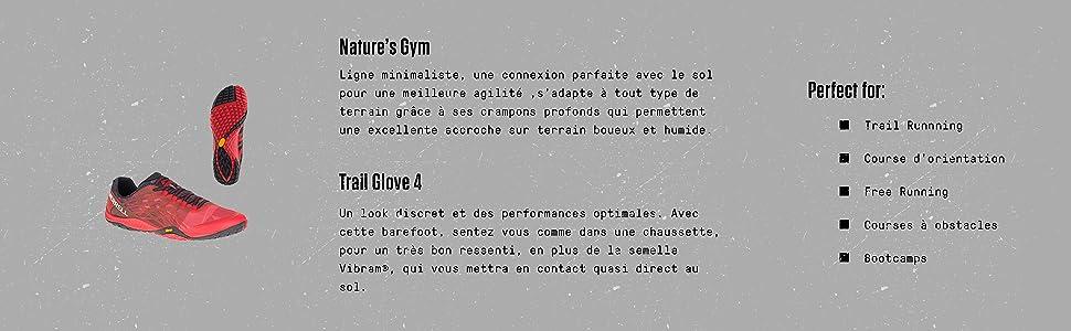 Merrell Homme Glove Chaussures 4 Trail Running De Zx0q1ZwU