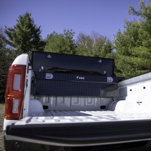 UWS Crossover Truck Tool Box in Truck Bed
