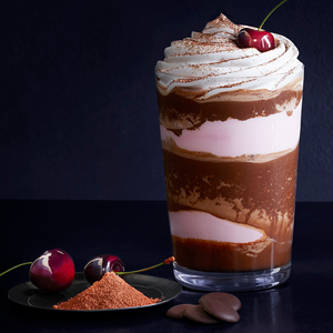 Dark Chocolate Cherry Frappe