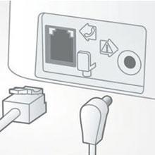 Philips D1401B - Teléfono inalámbrico con identificación