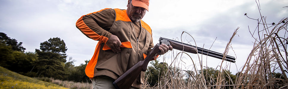 upland vest, browning vest, upland, game pouch, pheasant hunting