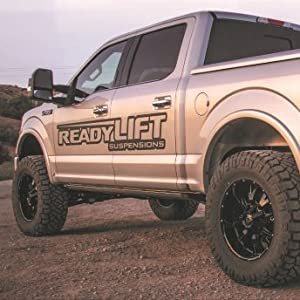 Readylift 66 2215 Suspension 2015 Ford F 150 2 25in Front Strut Spacer Billet Aluminum Leveling Kit