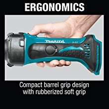 erfonomics compact barrel grip design rubberized soft grip handle hold use hand