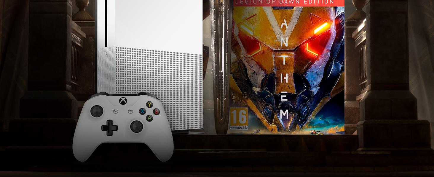 Microsoft Xbox One S - Consola 1 TB + Anthem: Legión Del Alba ...