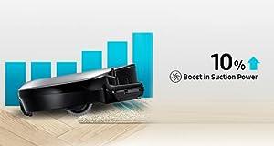 Samsung POWERbot R7010 Robot Vacuum intelligent power control