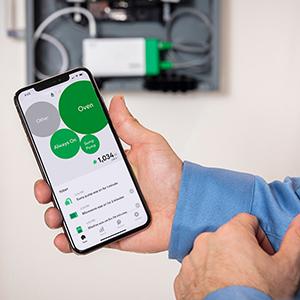Monitor energy usage