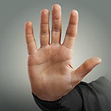 stop, hand gesture, before part replacement