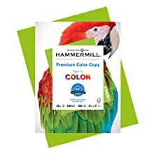 Hammermill Premium Copy Paper, a bright white paper for printing color-intensive, documents.