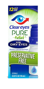 Clear Eyes Pure Relief Preservative Free