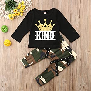 35bc3399487c3 Best clothes sets for your baby. Long/Short sleeve t-shirt +Camo long pants
