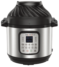 Instant Pot, one pot meals, 6-in-1 air fryer, air fry, air fries, pressure cooker, pressure cooking