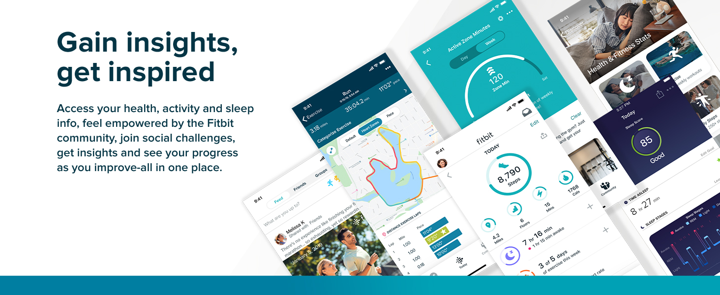 Fitbit Charge 4 - Gain insights, get inspired