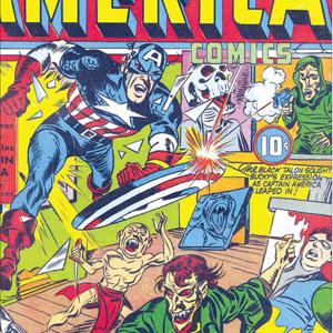 『キャプテン・アメリカ』9号、 1941年12月。