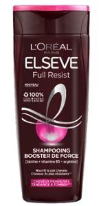 Shampoo Full Resist Booster di forza Elseve L'Oréal Paris