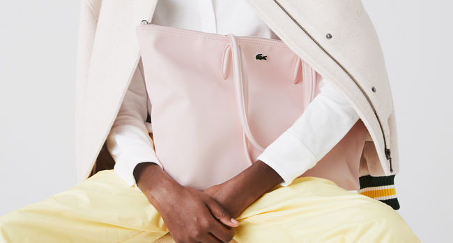 Bolso rosa palo L.12.12 Concept para mujer
