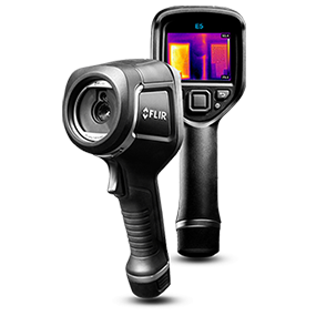 FLIR E5 Compact Thermal Imaging Camera with 120 x 90 IR Resolution ...