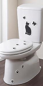 サンコー 貼ってはがせる 臭いとり アレンジできる おくだけ吸着 トイレの消臭シート おすわりイヌ KP-07 KP-07