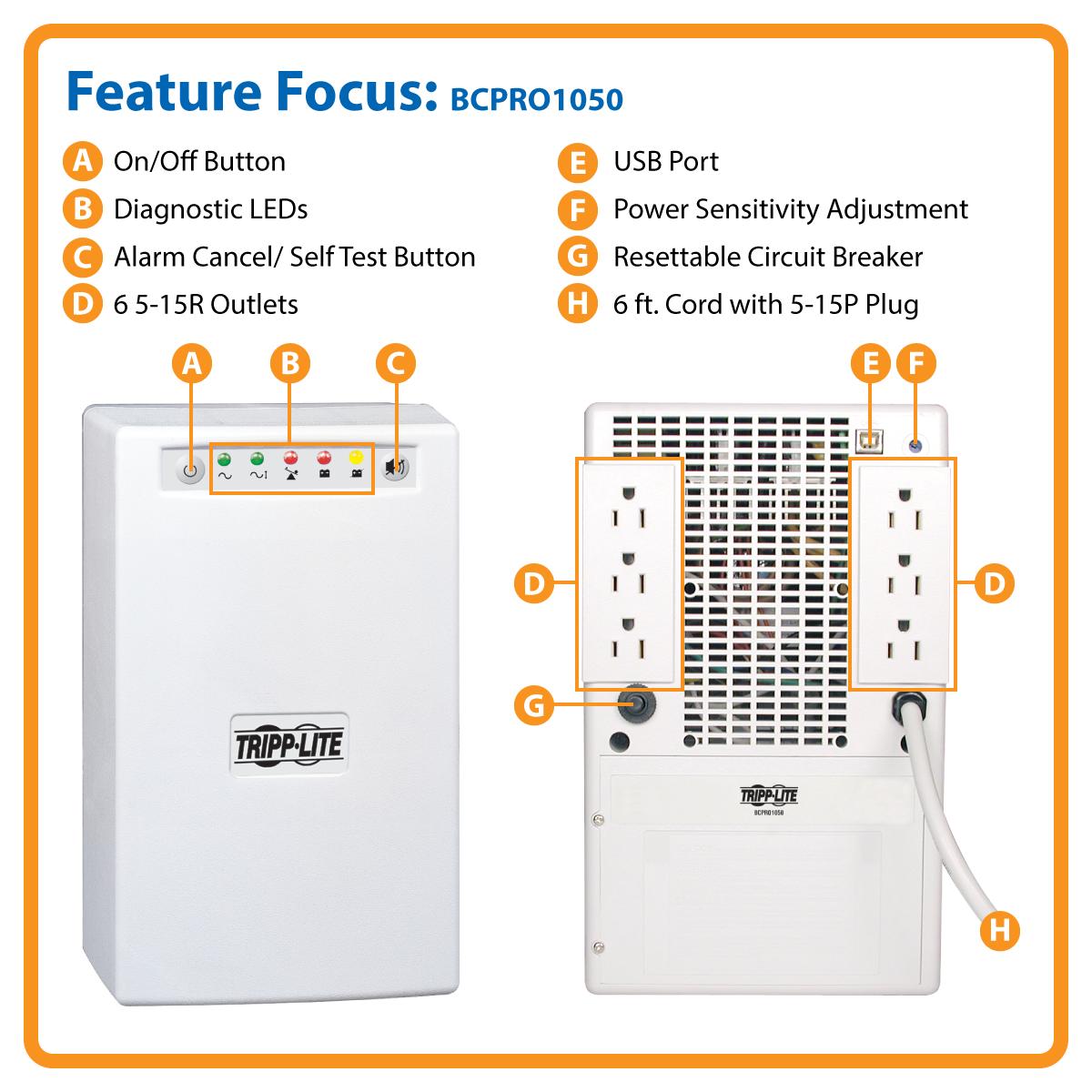 Tripp Lite Bcpro1050 Battery Wiring Diagram Free Download Apc Backup Amazon Com 1050va 705w Ups Desktop
