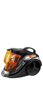 Rowenta X-Trem Power RO6941EA - Aspirador sin bolsa, sistema ciclónico, depósito con capacidad 2.5 L , cepillo para parquet y ranuras, tubo telescópico para todas las zonas, nivel ruido 75 dB: Amazon.es: Hogar