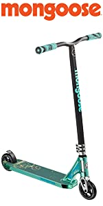 mongoose, freestyle scooters, scooters, mongoose rise, rise scooter, razor scooter, kids scooter