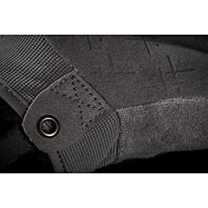Grey palm cuff puller tactical glove