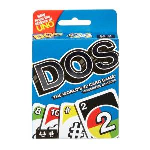 The classic UNO card game now has a new best friend, DOS