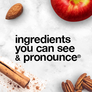 ingredients you can see and pronounce