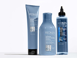 redken extreme bleach recovery cica cream shampoo conditioner damaged hair highlights paul mitchell