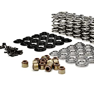 """.660"""" Lift Dual Spring Kit w/ Tool Steel Retainers for GM LS"""